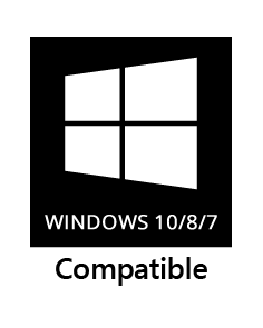Windows 10/8/7 compatible