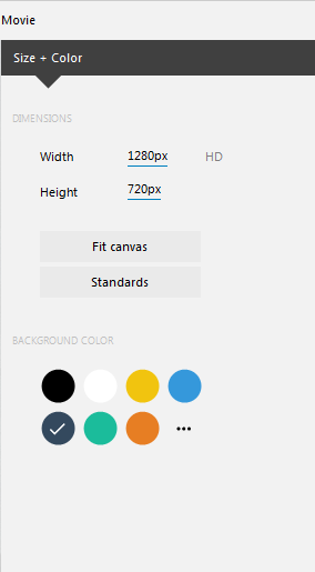 VideoDetailer - Choose your video settings